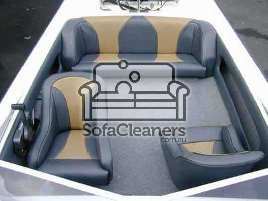 Toowoomba cleaned leather boat upholstery