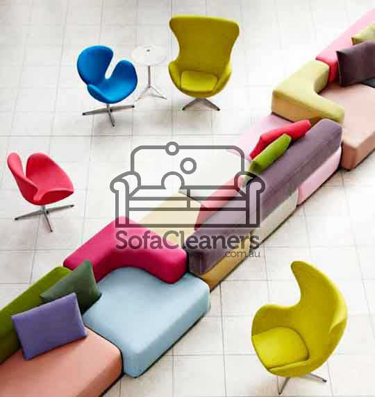 colored office sofas and seats