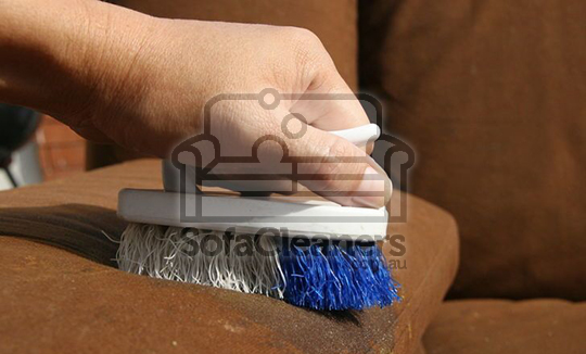 Microsuede sofa cleaning
