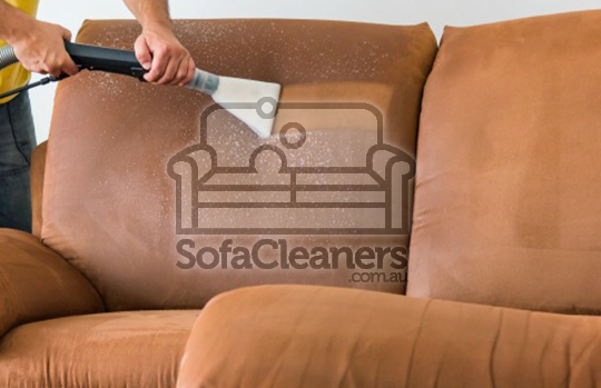 Microsuede sofa cleaning process