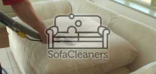 clean dirty sofa with steam