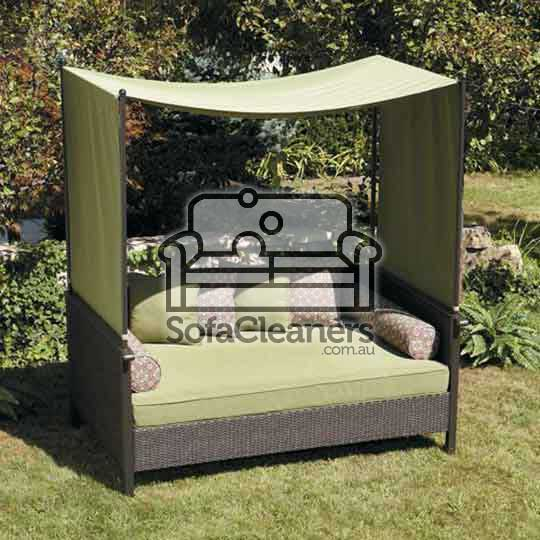 outside clean sofa
